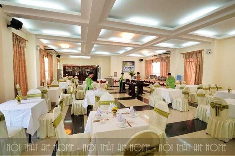Nhà hàng khách sạn thoả mãn nhu cầu ẩm thực của khách hàng