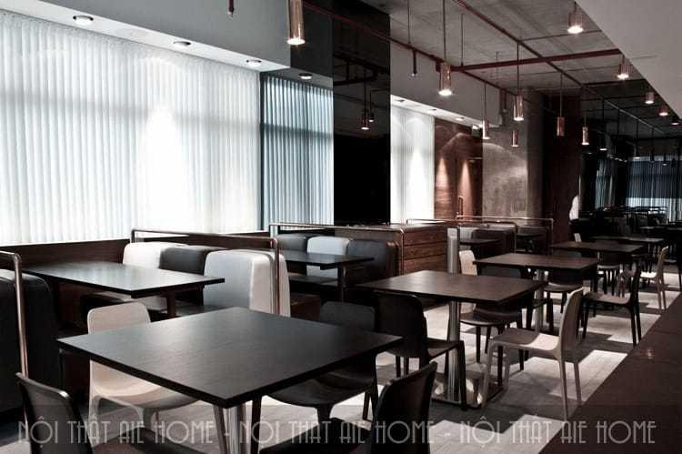Thiết kế nhà hàng phong cách hiện đại luôn là một trong những sự lựa chọn được ưa chuộng