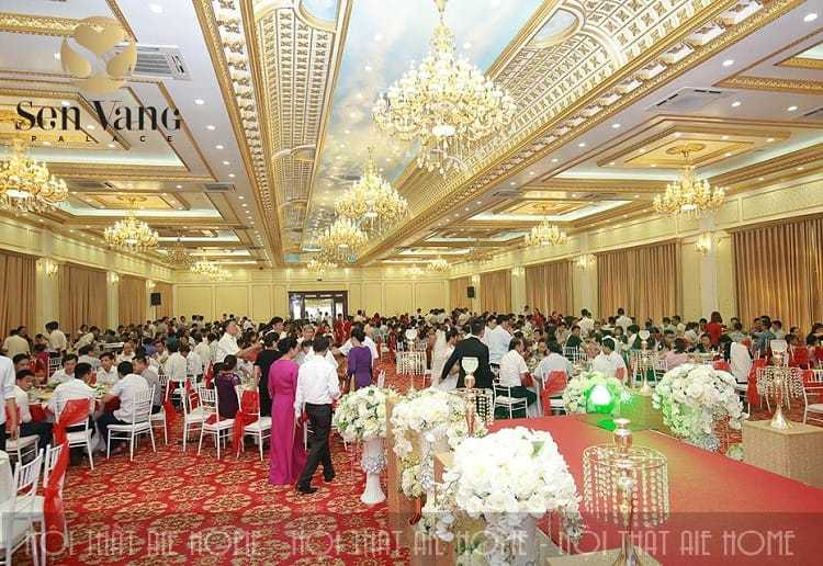 Trung tâm nhà hàng tiệc cưới Sen Vang Palace