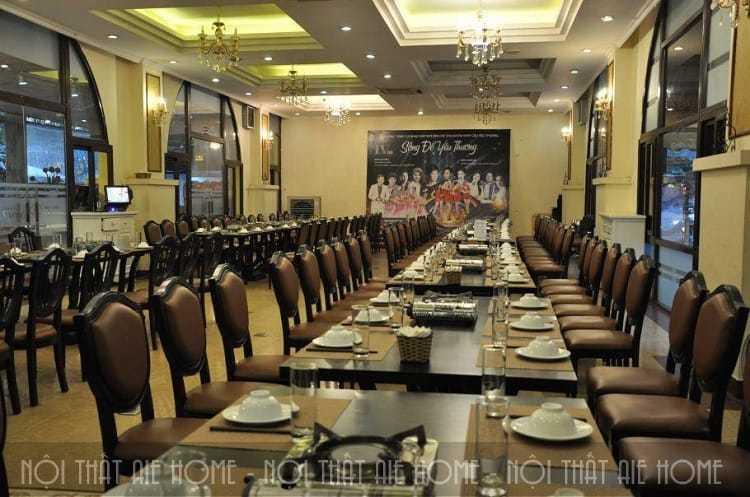 Không gian thiết kế nội thất nhà hàng tiệc cưới Lã Vọng