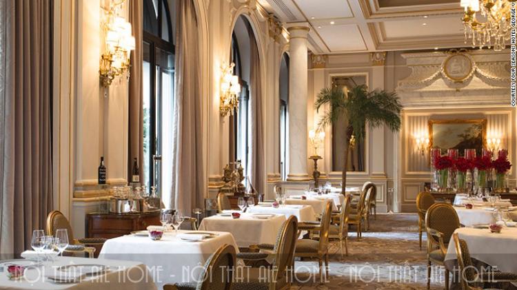 Thiết kế nhà hàng phong cách Châu Âu hợp phong thủy sẽ đem lại may mắn và tài lộc