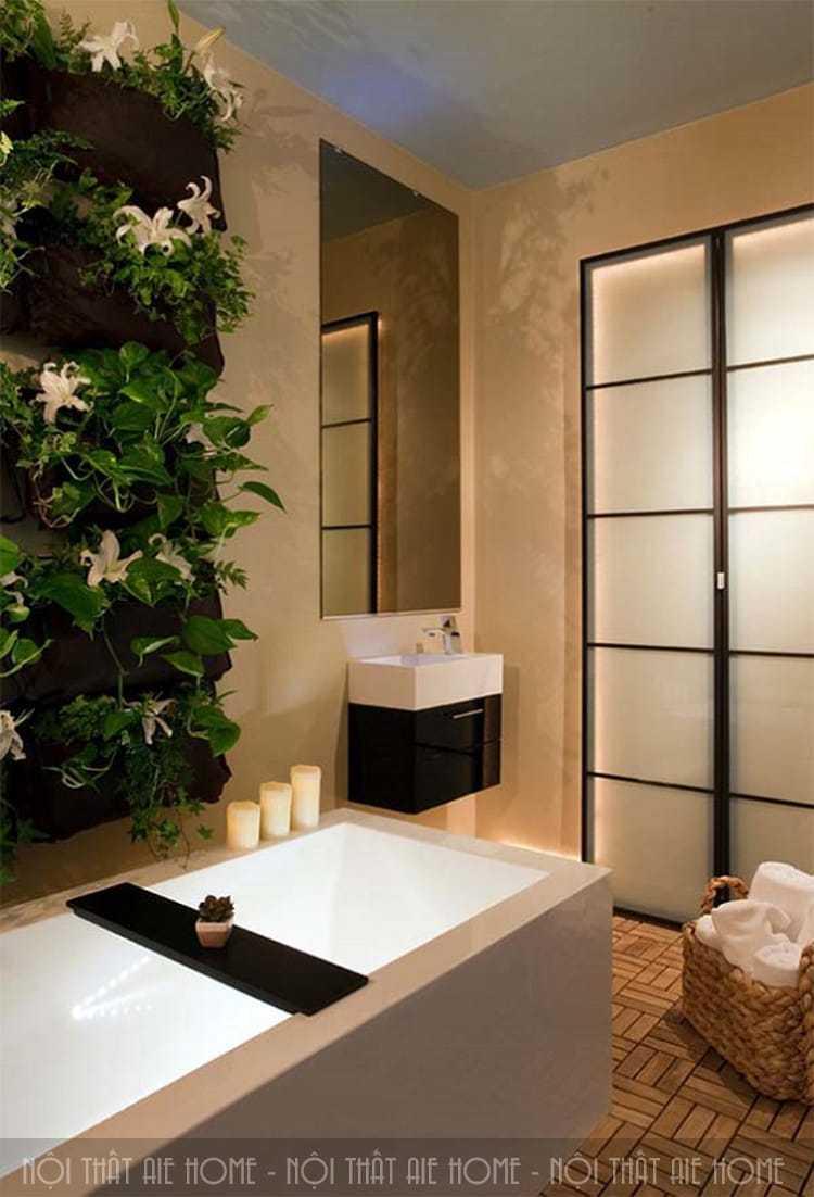 Thiết kế spa tại nhà đúng mục đích sử dụng