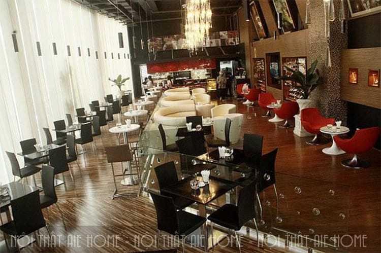 Khoảng cách các ghế ngồi trong thiết kế nhà hàng ăn uống