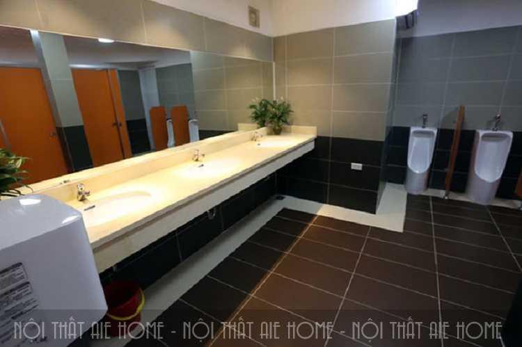 Thiết kế nhà vệ sinh trong nhà hàng ăn uống