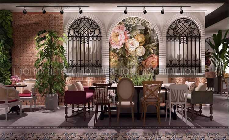 4 Phong cách thiết kế quán cafe giữ chân khách hàng