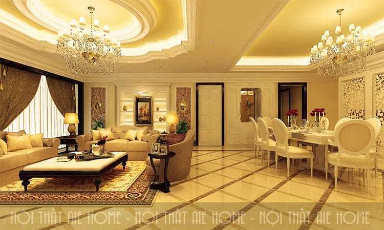 Quy trình báo giá thiết kế, thi công và hoàn thiện nội thất chung cư trọn gói