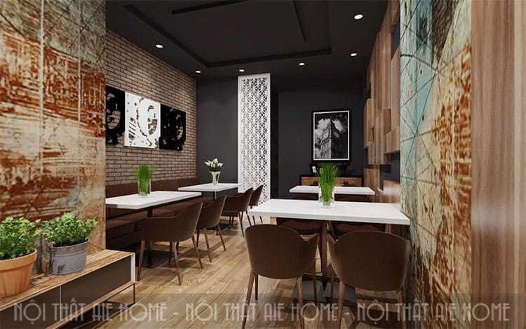 Cải tạo nhà hàng quận 12 - Tp.HCM