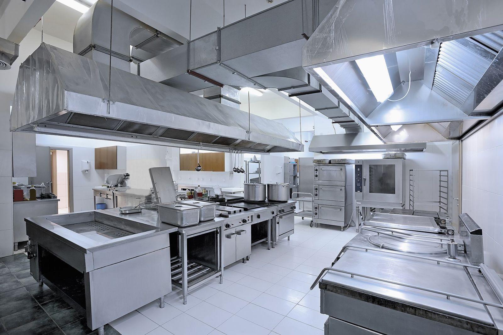 """Tiêu chuẩn và nguyên tắc """"vàng"""" cần biết trong thiết kế bếp nhà hàng"""