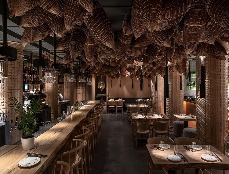 Thiết kế quầy bar nhà hàng xu hướng hot nhất 2021