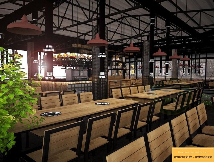 Thiết kế nhà hàng bằng khung thép - 6 thiết kế xu hướng mới nhất 2021