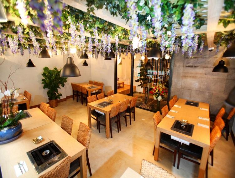 Thiết kế nhà hàng Hàn Quốc ấn tượng xu hướng dẫn đầu 2021