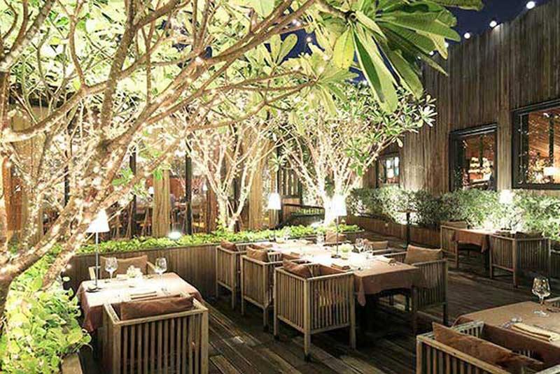 3 mẫu thiết kế nhà hàng sân vườn đẹp hợp xu hướng thu hút thực khách