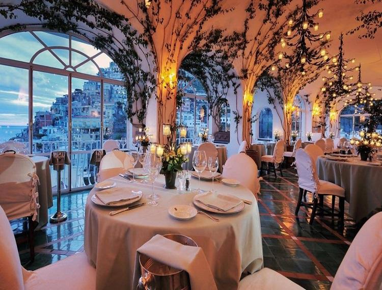 Thiết kế nhà hàng Châu Âu đơn giản, hiệu quả thu hút thực khách