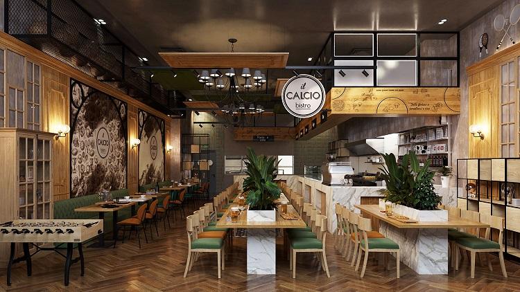 Thiết kế nhà hàng quán ăn hút khách với 7 ý tưởng mới mẻ nhất