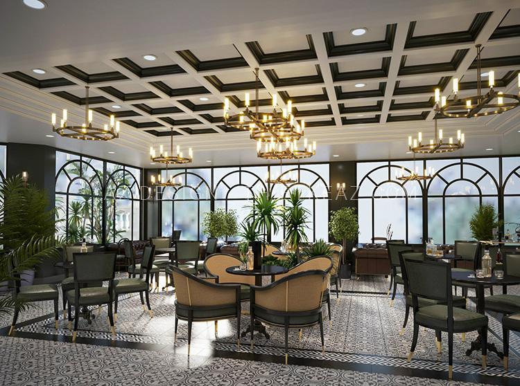 Nhà hàng Cafe Luxury - Nội Bài - Hà Nội