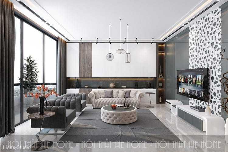 Ấn tượng với các mẫu thiết kế nhà chung cư đẹp giữa lòng thủ đô Hà Nội
