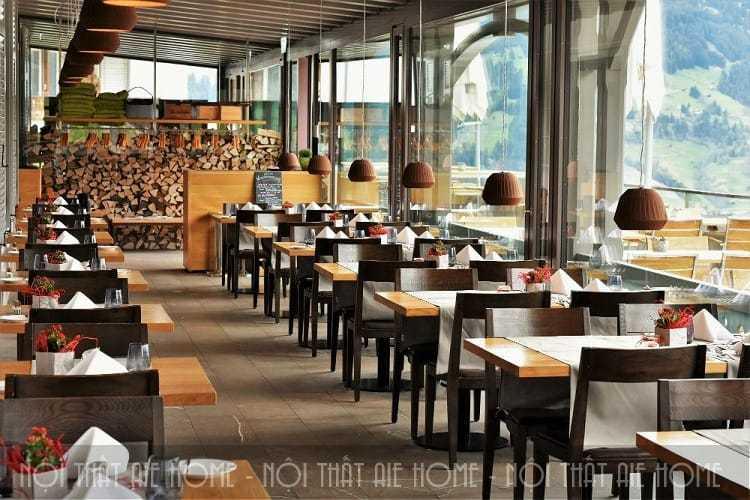 3 mẫu thiết kế nhà hàng ăn uống cuốn hút nhất hiện nay