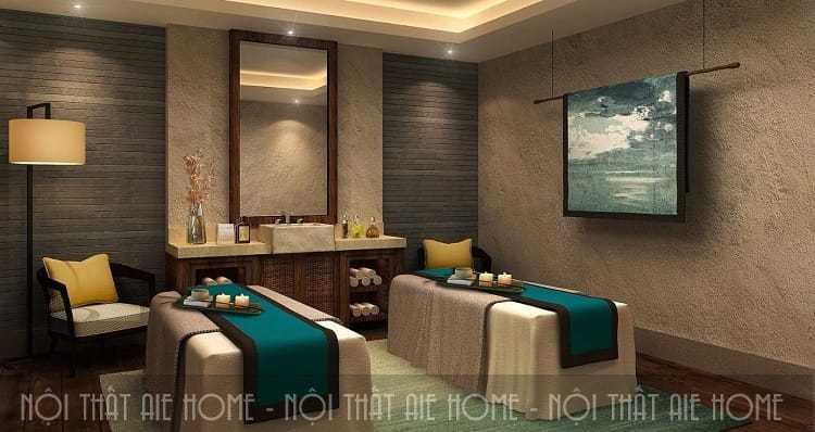 Tổng hợp các mẫu thiết kế nội thất spa đẹp, ấn tượng hạ gục mọi vị khách khó tính