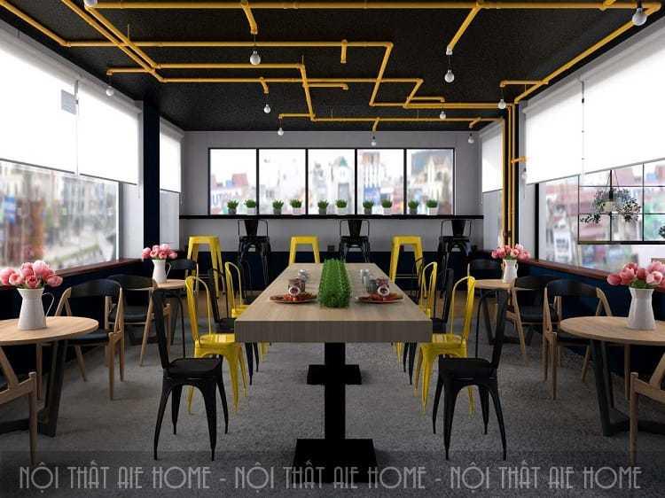 Những mẫu thiết kế quán cafe đẹp níu chân khách hàng