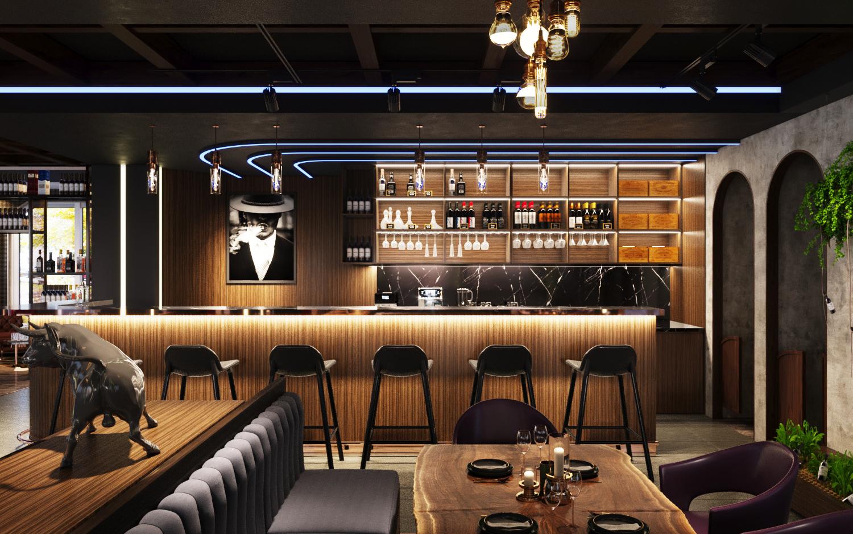 Nhà hàng bar, beer, cigar HUGO - Đức