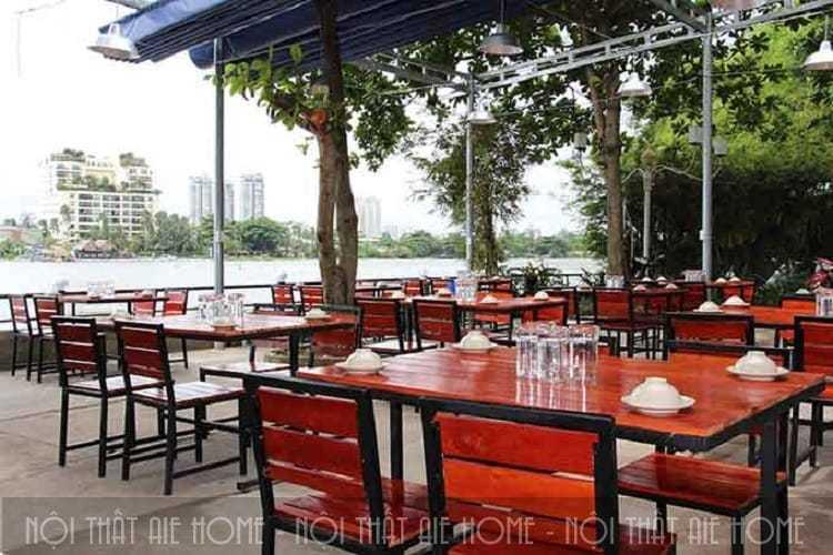 Kinh nghiệm thiết kế nhà hàng ven sông mang lại lợi nhuận cao