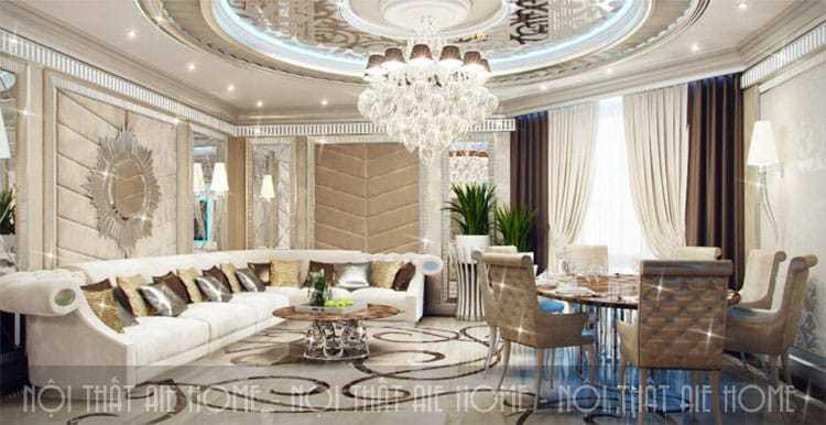 Gợi ý cách bài trí nội thất căn hộ cao cấp tuyệt đẹp