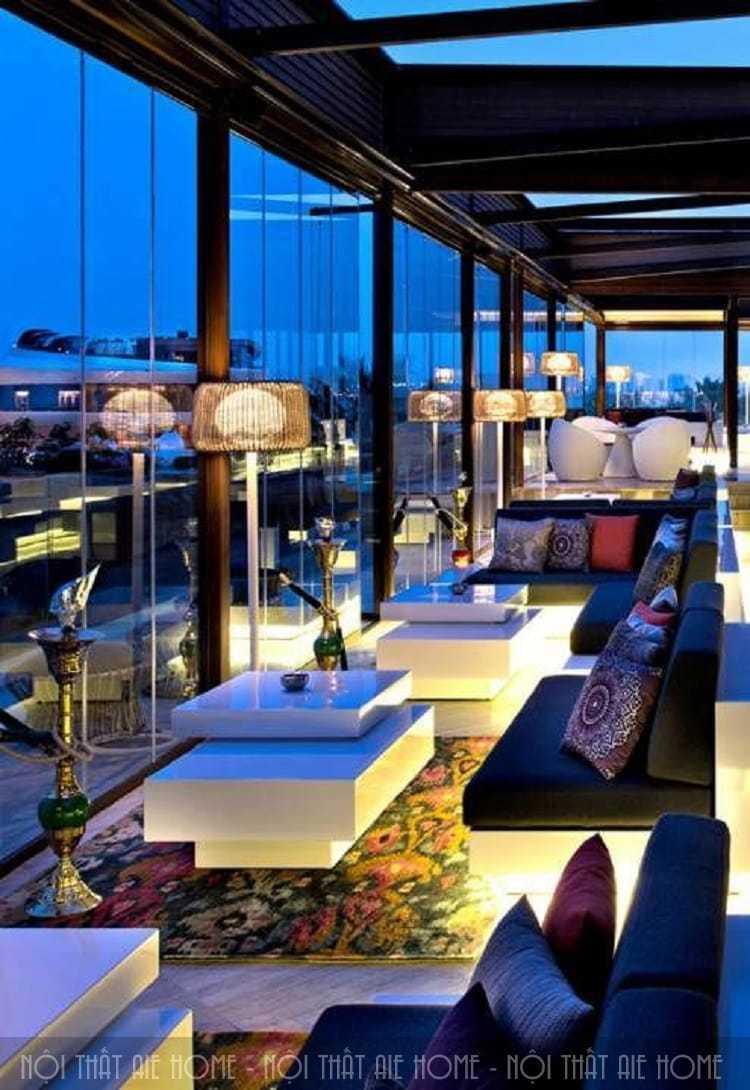 2 phong cách thiết kế quán cafe shisha hot nhất hiện nay
