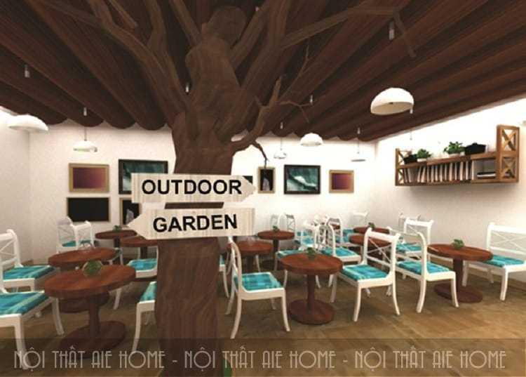 Tổng hợp các phong cách thiết kế quán cafe hot nhất 2018