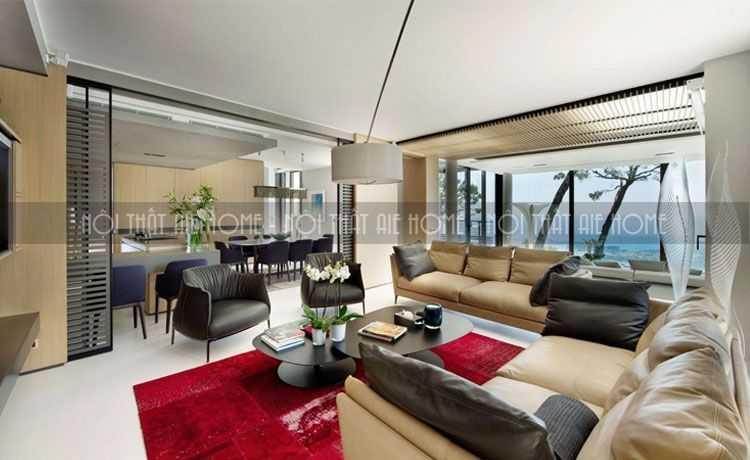 8 kinh nghiệm thiết kế nội thất phòng khách biệt thự