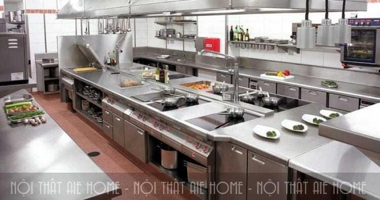 Mách bạn cách thiết kế bếp khách sạn tiện nghi với chi phí tiết kiệm nhất