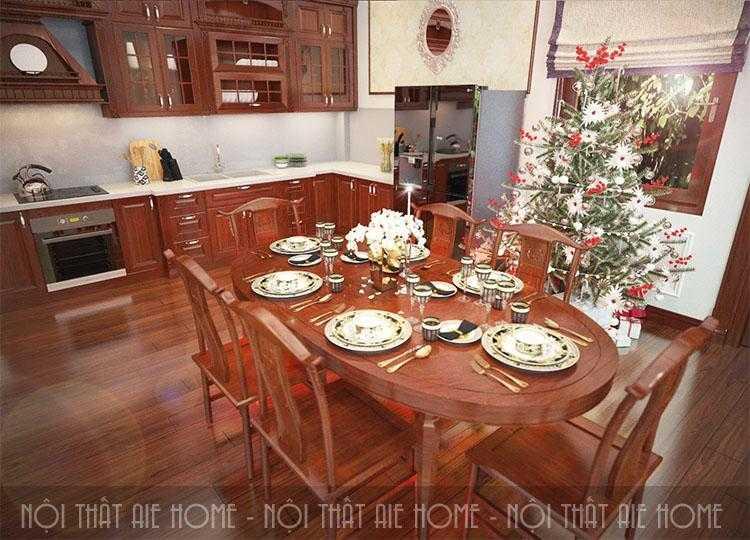 Ngắm thiết kế biệt thự 2 tầng 2 mặt tiền đẹp và sang trọng nhờ sử dụng nội thất gỗ tự nhiên