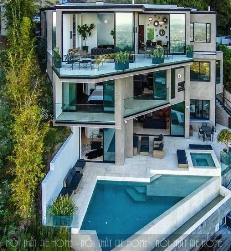 4 lưu ý giúp bạn thiết kế biệt thự hiện đại có bể bơi đẹp như mơ
