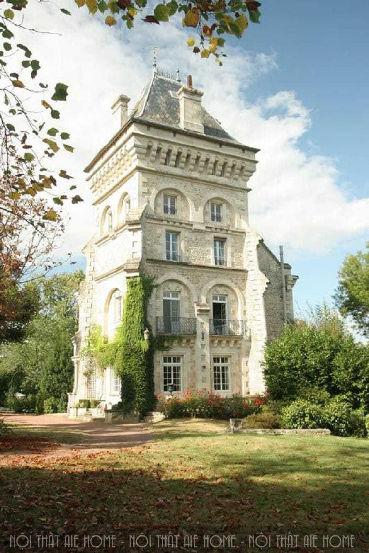 Thiết kế biệt thự kiểu Pháp cần lưu ý những vấn đề gì ?