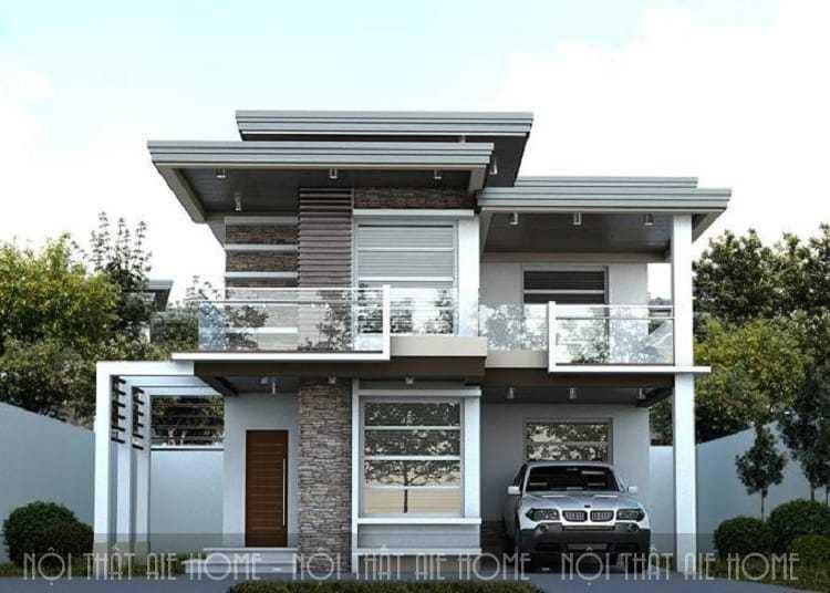 4 gợi ý giúp bạn có được mẫu thiết kế biệt thự mini 2 tầng đẹp miễn chê