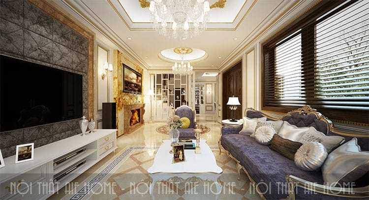 Mẫu thiết kế biệt thự phong cách tân cổ điển ấn tượng và đẳng cấp nhất