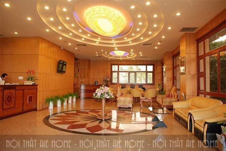 Top 9 mẫu thiết kế đại sảnh khách sạn đẹp nhất