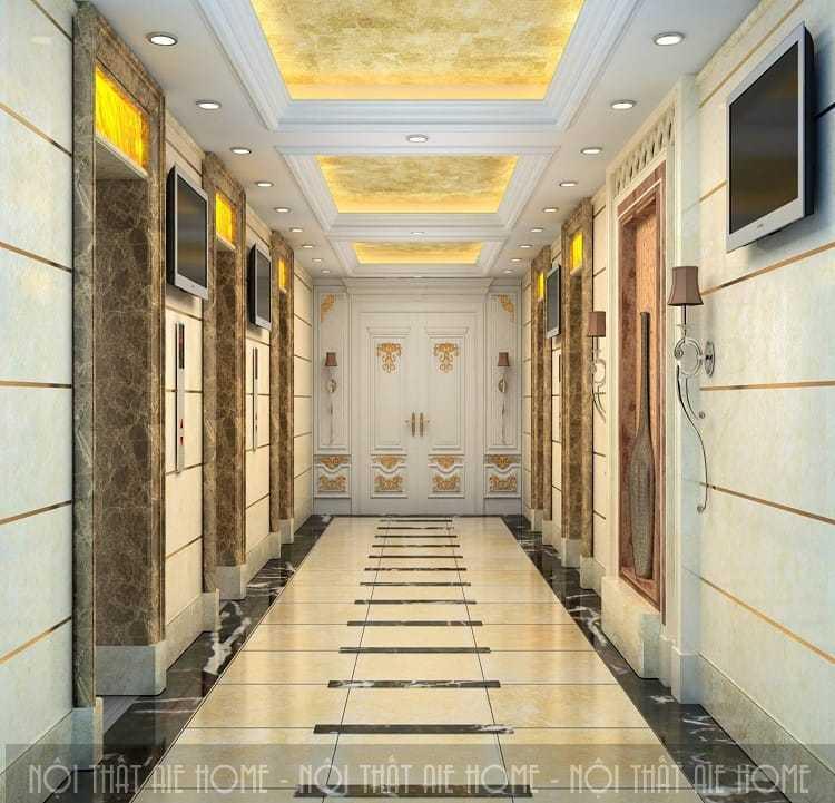 Kinh nghiệm thiết kế hành lang khách sạn gây ấn tượng từ cái nhìn đầu tiên