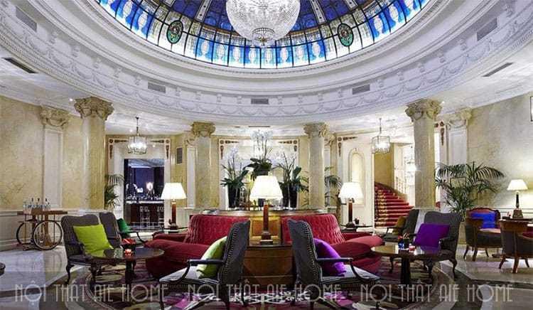 Làm sao để thiết kế khách sạn đẹp, sang trọng, tinh tế