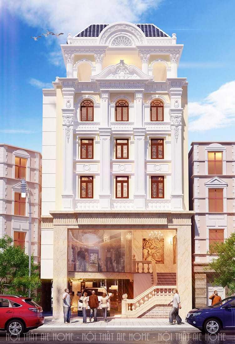 Sở hữu mẫu thiết kế khách sạn 3 tầng mimi đẹp nhất 2018