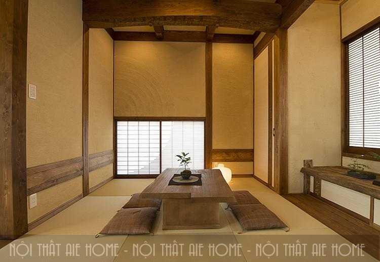 Thiết kế nhà chung cư 110m2 theo phong cách Nhật Bản