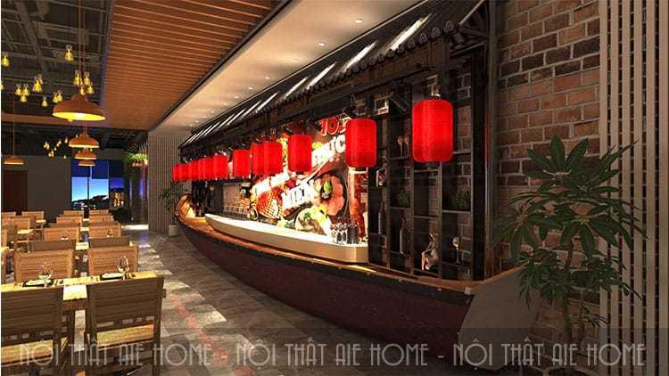 Thiết kế nhà hàng ẩm thực 3 miền Nha Trang