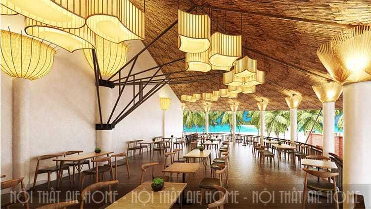 Thiết kế nhà hàng biển