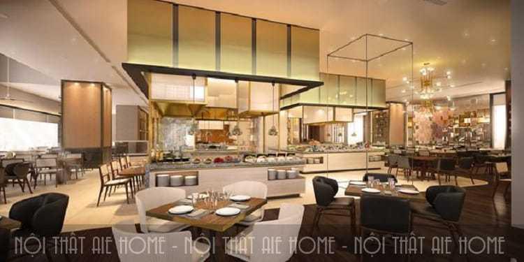 Những tiêu chuẩn thiết kế nhà hàng buffet bạn cần biết