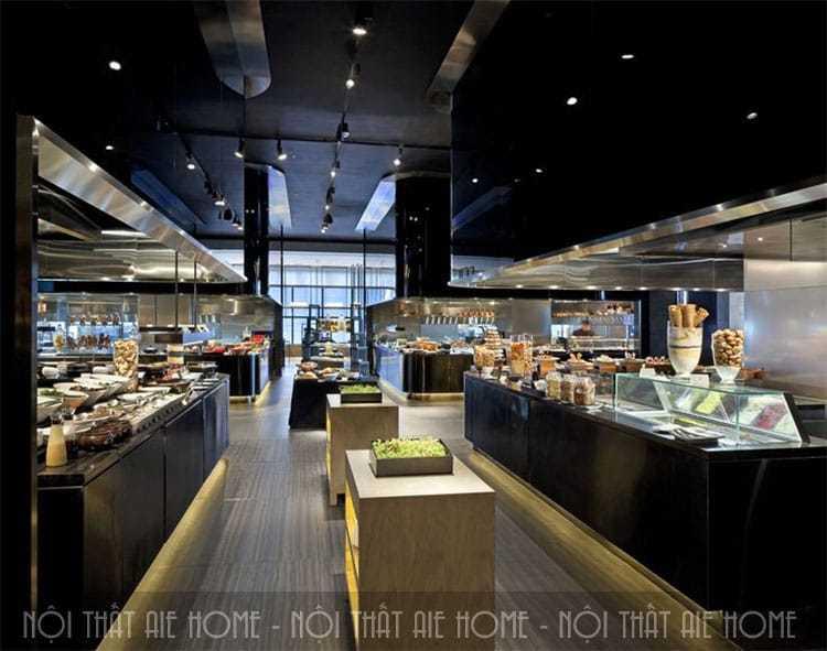 Điểm danh các mẫu thiết kế nhà hàng hiện đại và sang trọng nhất