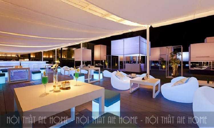 Tuyệt chiêu thiết kế nhà hàng khách sạn níu giữ mọi bước chân