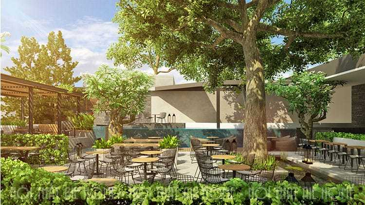 Thiết kế nhà hàng Paradis