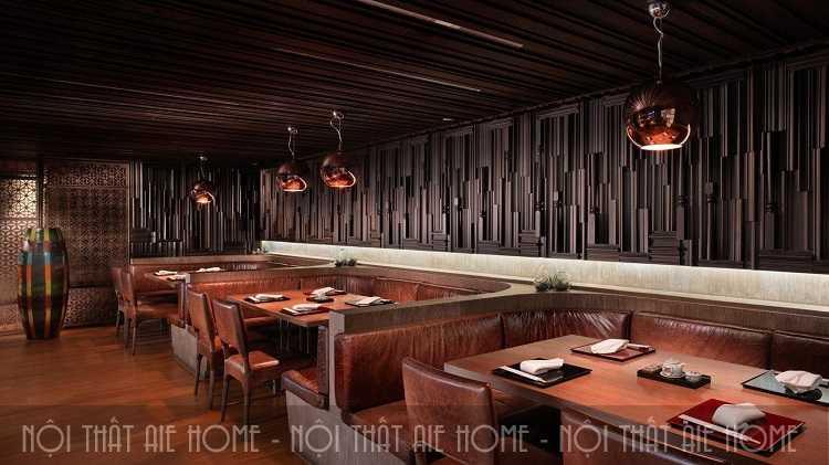 Tuyệt chiêu thiết kế nhà hàng sushi phong cách Nhật Bản hút khách