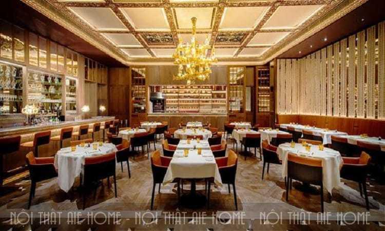 Thiết kế nhà hàng theo phong cách Châu Âu – Nội thất AZ DESIGN