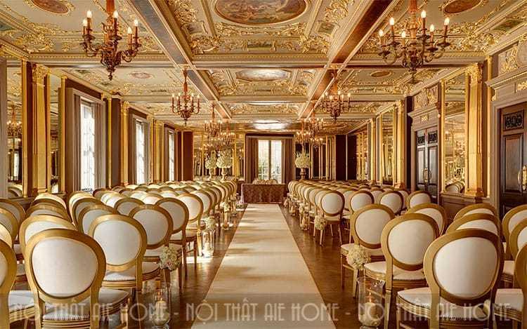 6 lưu ý để thiết kế một nhà hàng tiệc cưới sang trọng, ấn tượng?