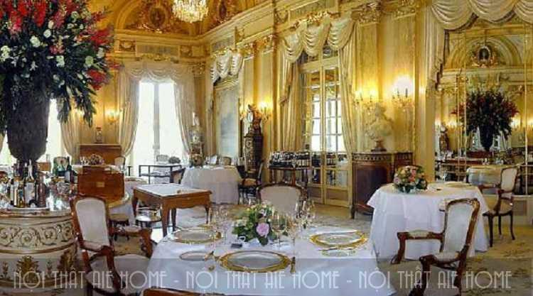 Tuyệt chiêu thiết kế nhà hàng Châu Âu đốn tim mọi thực khách